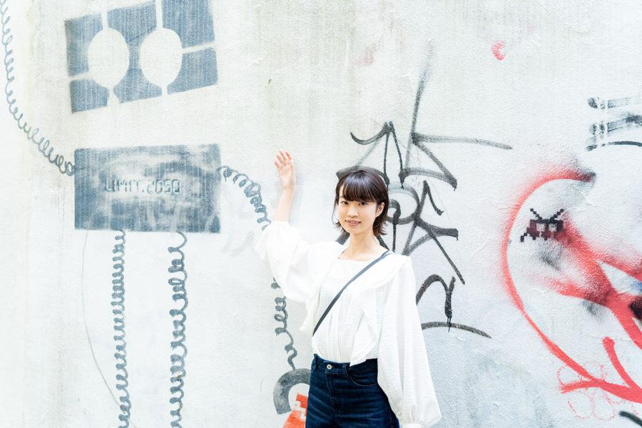 Girl & Spot #01「卵サンドと日本海」