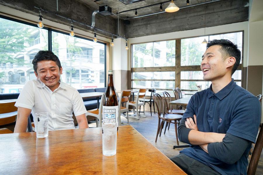 ハイボール専用の日本酒が西蒲区から登場!「笹祝酒造の清酒ハイボール」開発者インタビュー