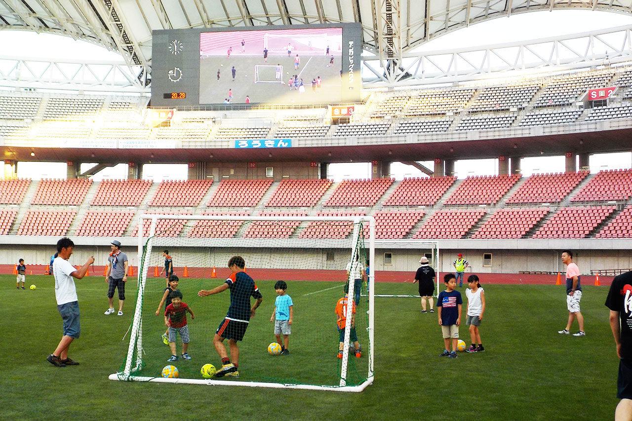 大人から子どもまでみんなで楽しめる「スポーツ公園フェスタ」開催!