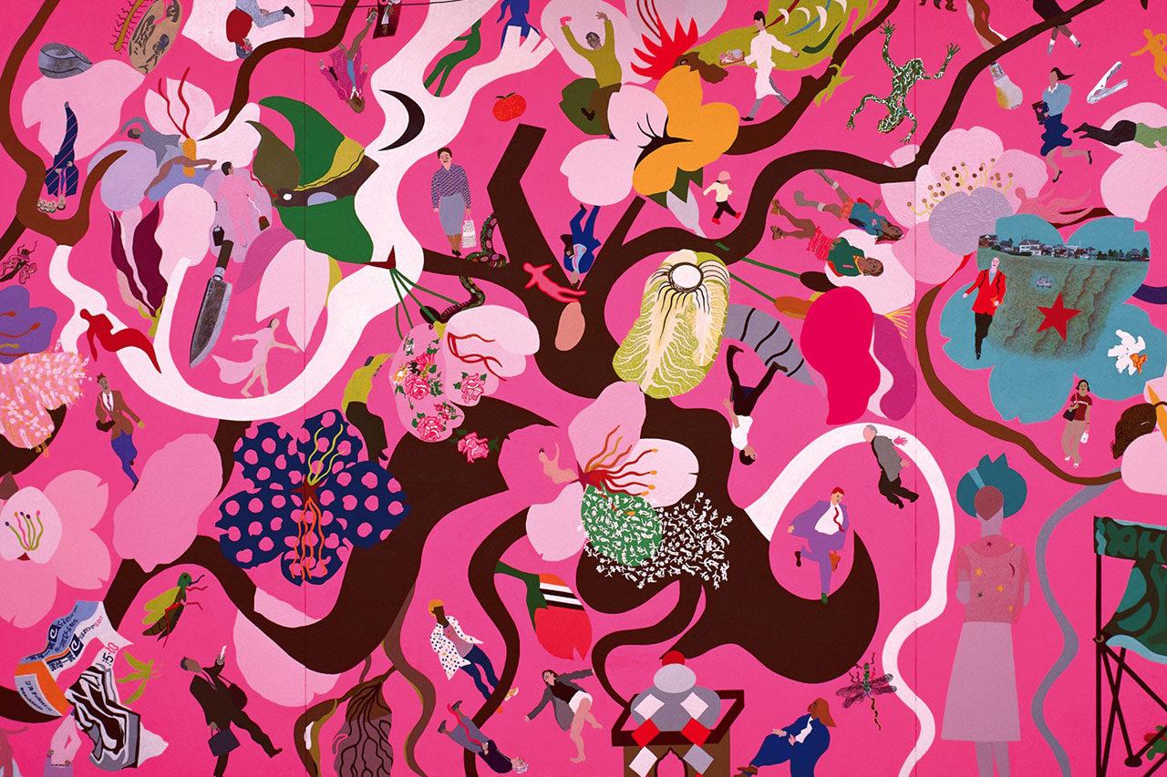 NSG美術館「明るい色 かたちと色彩の饗宴 馬場まり子展」【プレゼント企画】