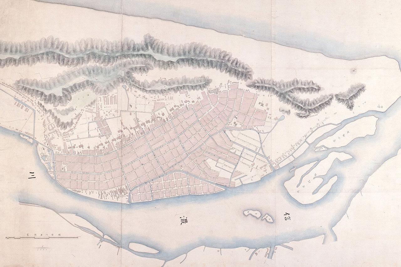 新潟市歴史博物館にて「地図と古写真でみる新潟の文明開化展」開催
