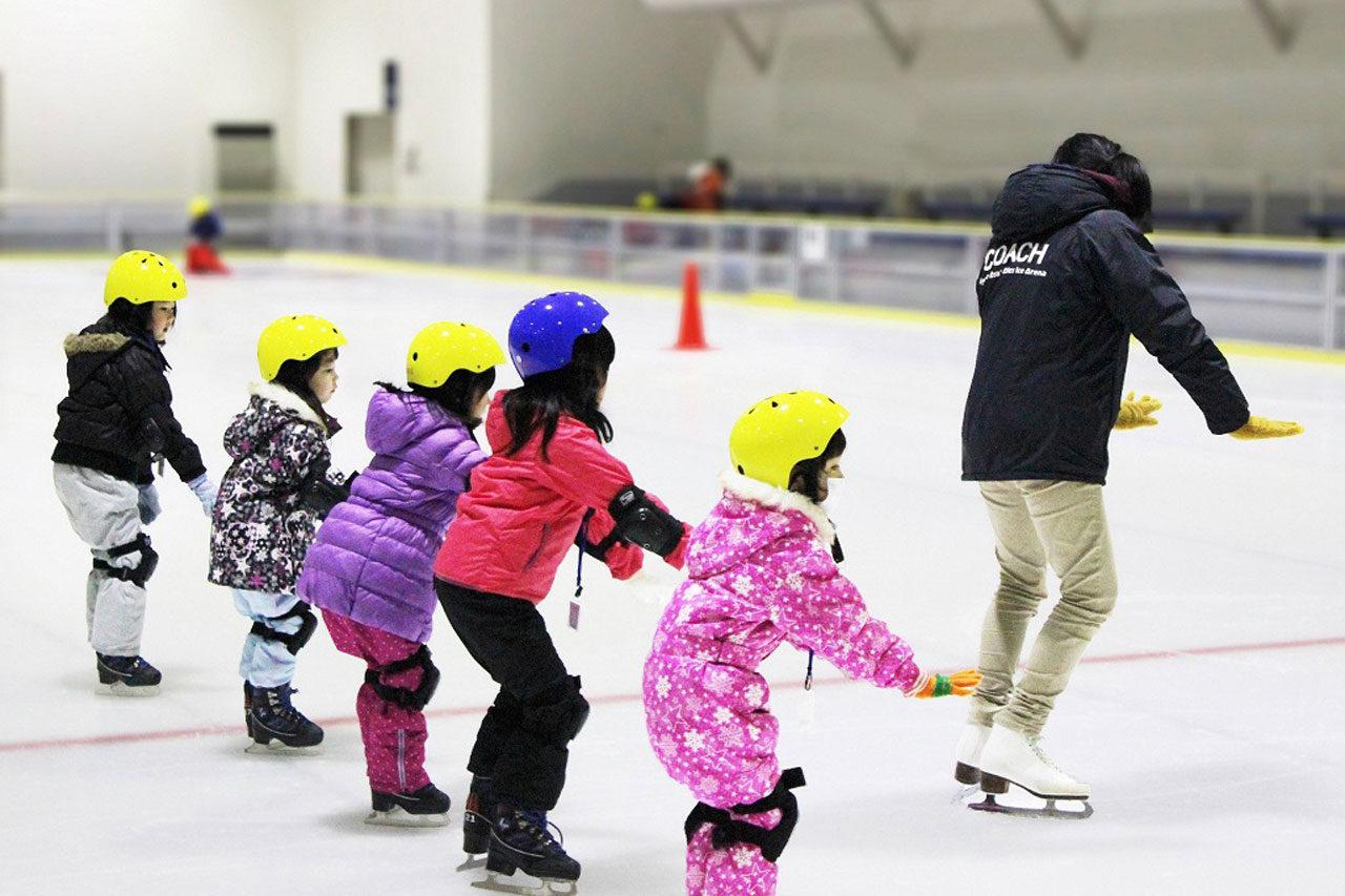 MGC三菱ガス化学アイスアリーナ「夏休み短期スケート教室」開催